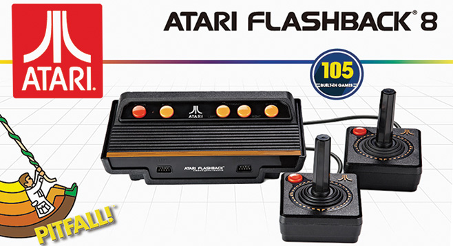 Atari flashback 8 what 39 s not to love san diego reader - Atari flashback 3 classic game console ...