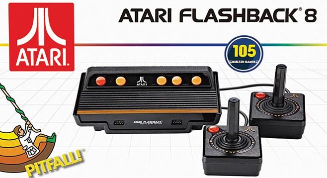 Basically an Atari 2600 without annoyances