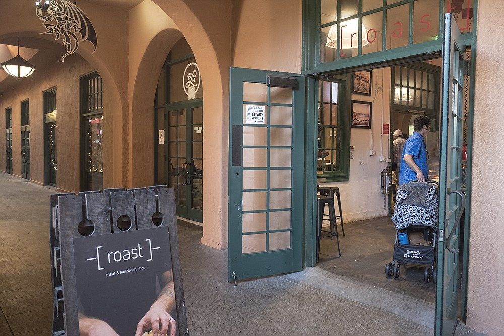 Accessible from both inside and outside Liberty Public Market