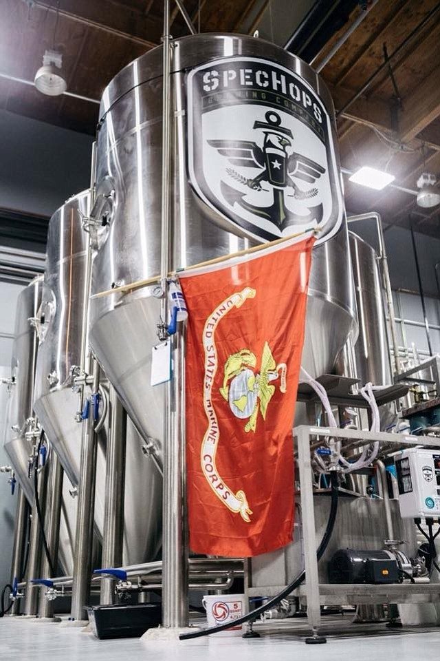 SpecHops Brewing Company was established by a Marine.