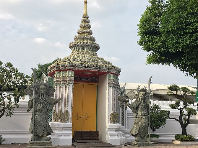 Thailand Guardians of Wat Pho