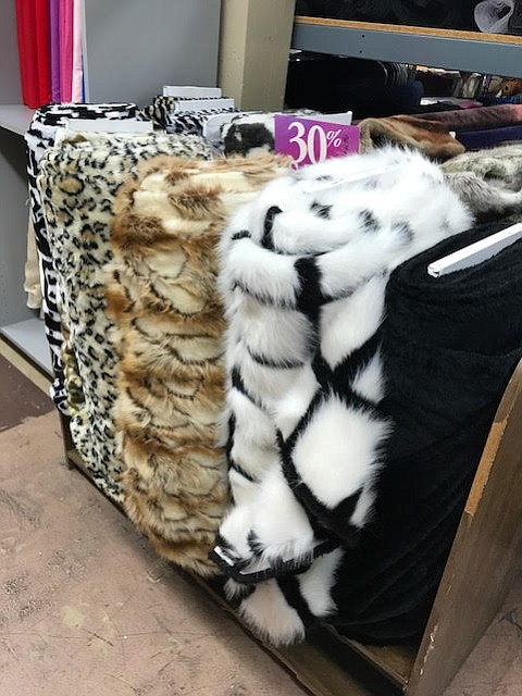The Burning Man people come here for the fake fur selection.