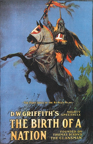 Birth of a Nation theatrical posters from 1915...