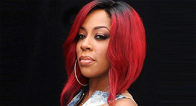 K. Michelle from  Love & Hip-Hop: Atlanta is in town
