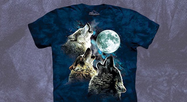 Wolf wins the Badass Quotient.