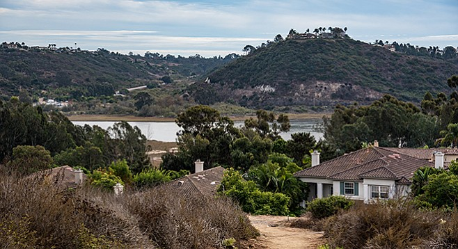 Batiquitos Lagoon — The views can be quite striking.