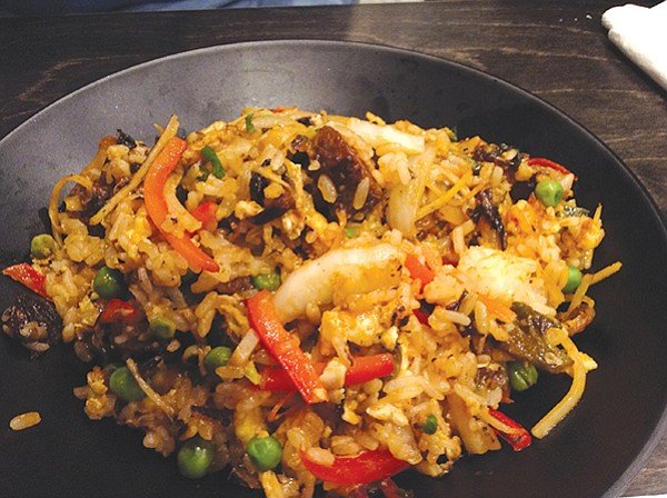 Fried rice — part of a culinary West Pac cruise.