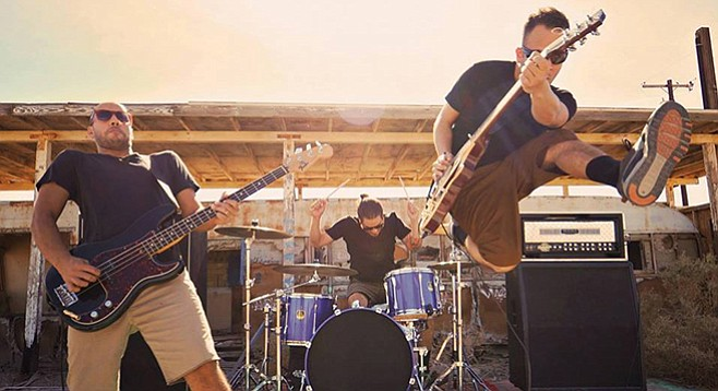 Many different local bands gave Sameland their sound