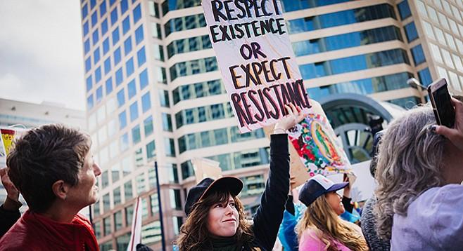 Saturday, January 20: Women's March