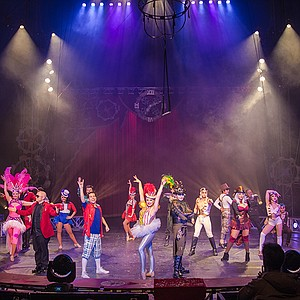 A circus event with a pirate theme