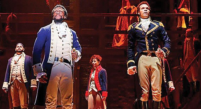Hamilton: an honest, flaws-and-all look at the painful, often clumsy birth of America.
