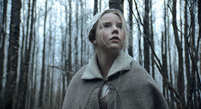 The Witch: A gloomy, sinister picture of a Puritan family
