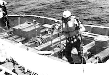 Abandon ship drill