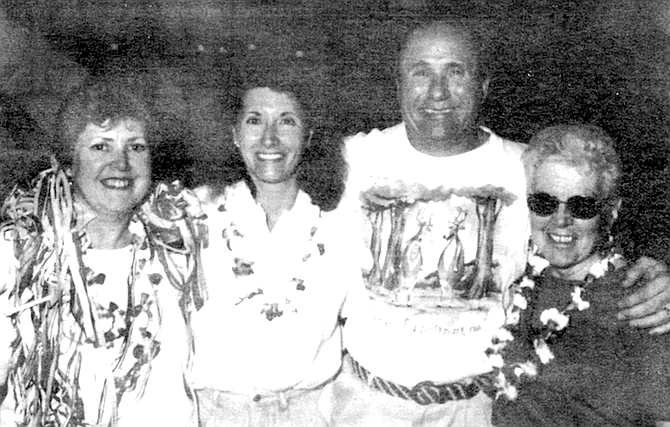 Leslie, Colleen and Michael Reagan, author