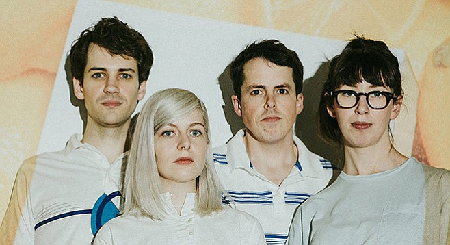 Alvvays, an up-and-coming jangle-pop band