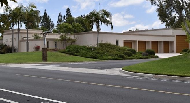 The new 6335-square-foot house at 4811 Yerba Santa Drive