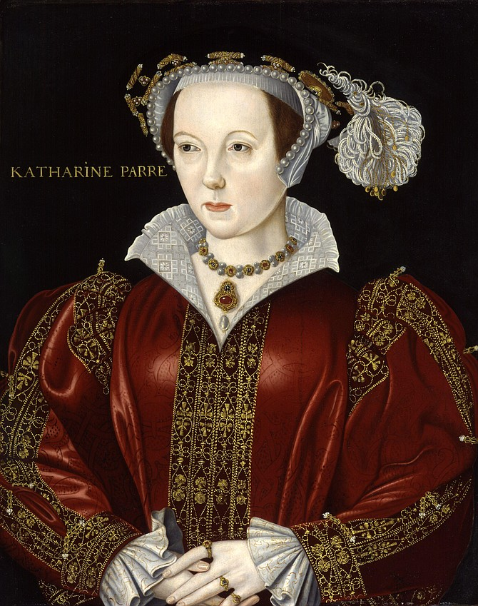 Katherine Parr influenced situations with her intelligence, humor, and charm.