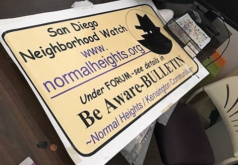 Because the building is scheduled for demolition, Neighborhood Watch activities will be based out of residents' homes.