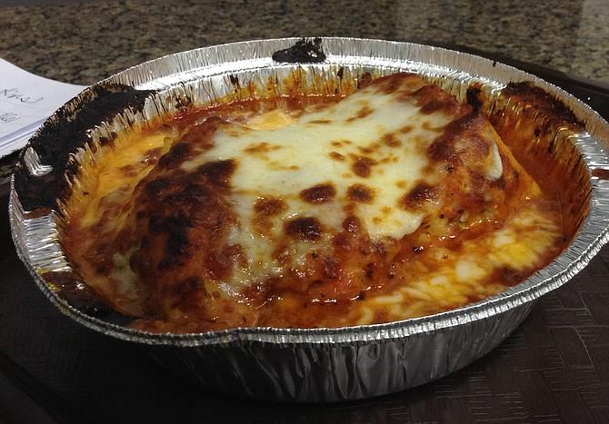Lasagna. Meal in itself.