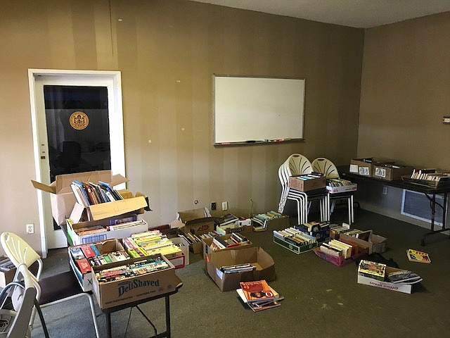 Book sales have helped fund the upkeep projects at 3905 Adams Avenue.