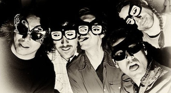 Forever long in the tongue (Hot Snakes back when)