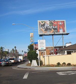 Rosecrans traffic and the palm reader will stay.