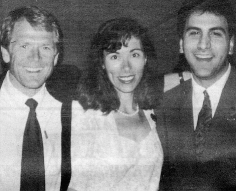 Peter Navarro and wife with Zampella, c. 1992