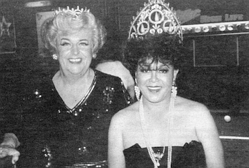 Queen Eddie and Nicole Murray