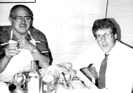 Zampella's father with Jeff Marston