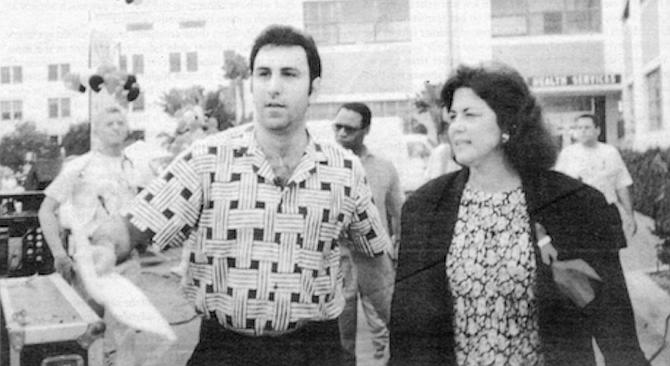 Zampella and Susan Golding at AIDS Walk