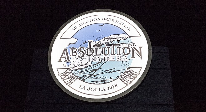 Absolution Brewing took over the old La Jolla Brewing