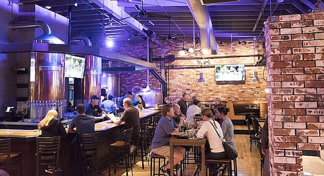 """The owner calls it a """"brewery restaurant,"""" not a brewpub."""