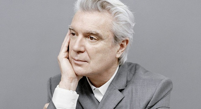 David Byrne is at the San Diego Civic Theatre on April 17