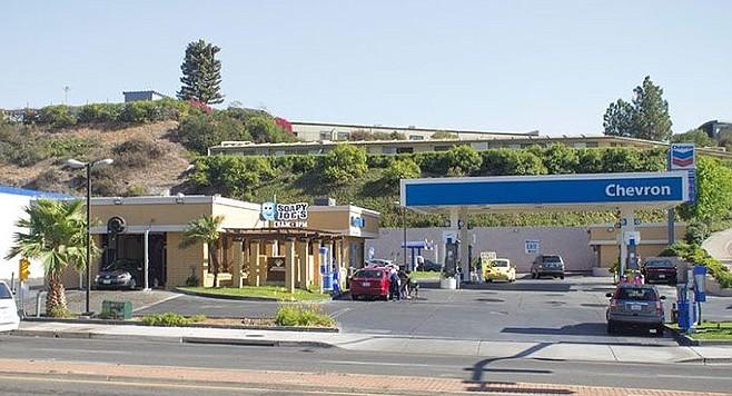 Rancho Bernardo gas at $4 19 a gallon | San Diego Reader