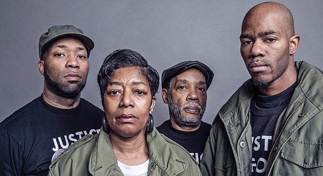 The Blood Is at the Doorstep: The Hamilton family and their efforts to inspire the citizens of Milwaukee in light of a senseless shooting take center stage in Erik Ljung's documentary.