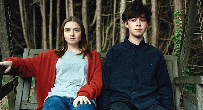 The End of the F***ing World, a British TV show, comes with dark humor.