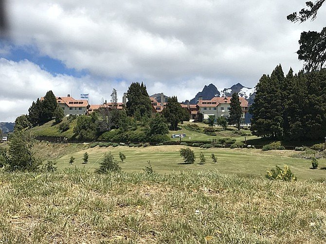 Alpine scenery around Llao Llao Hotel.