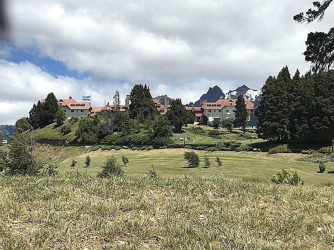 Alpine scenery around Llao Llao Hotel.
