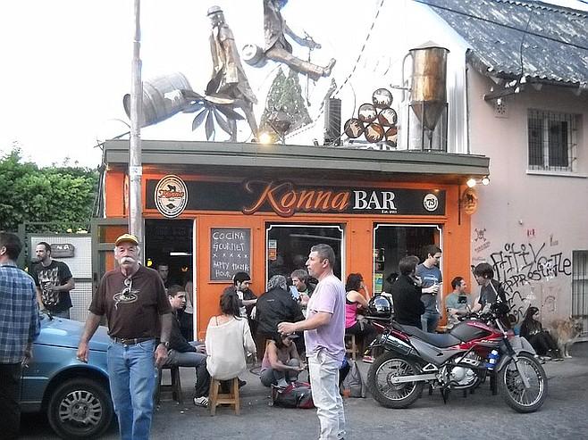 Bar hopping in Bariloche.