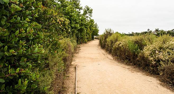 Water's End Trail is one of the discontinuous segments of Coastal Rail Trail.