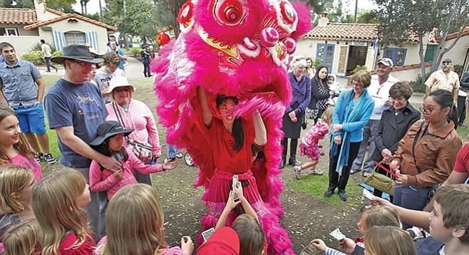 Saturday, February 3: Chinese New Year in Balboa Park