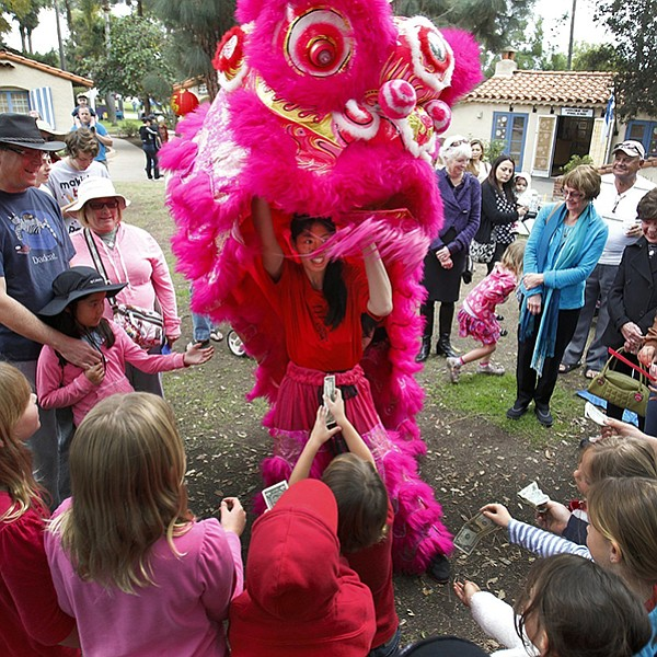 Chinese New Year at the International Cottages