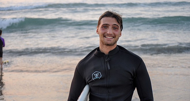 "Noah Roistacher: Cape Hatteras was ""a really cool experience."""
