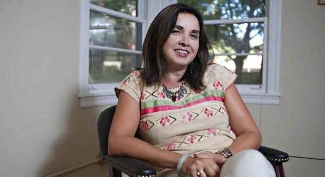 San Diego State University president-designate Adela de la Torre
