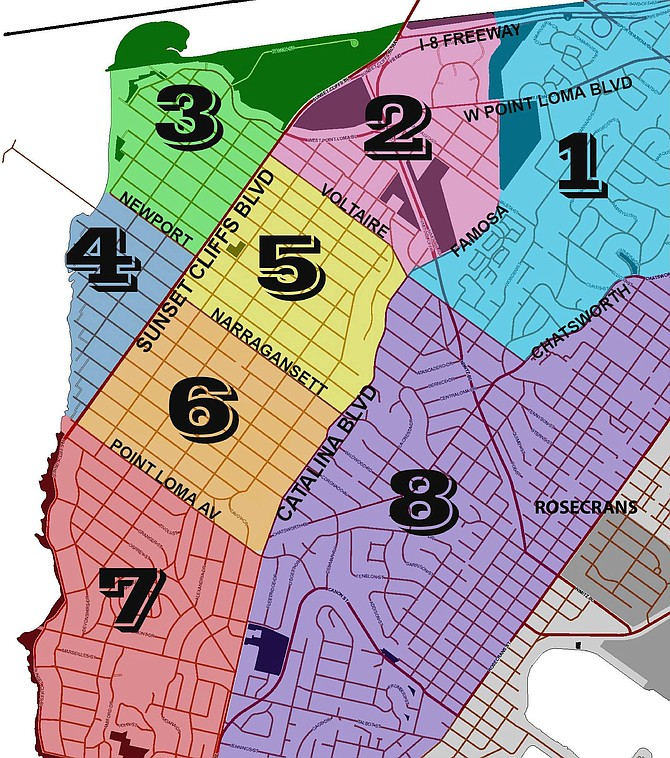 Neighborhood watch covers eight zones in Ocean Beach and Point Loma.