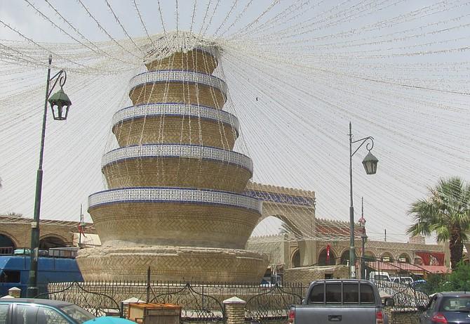 Tozeur, main square