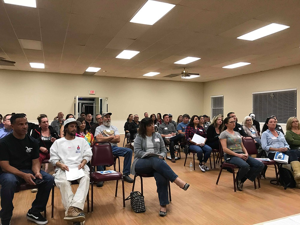 On January 31, more than 40 locals gathered to discuss loitering and allied problems.
