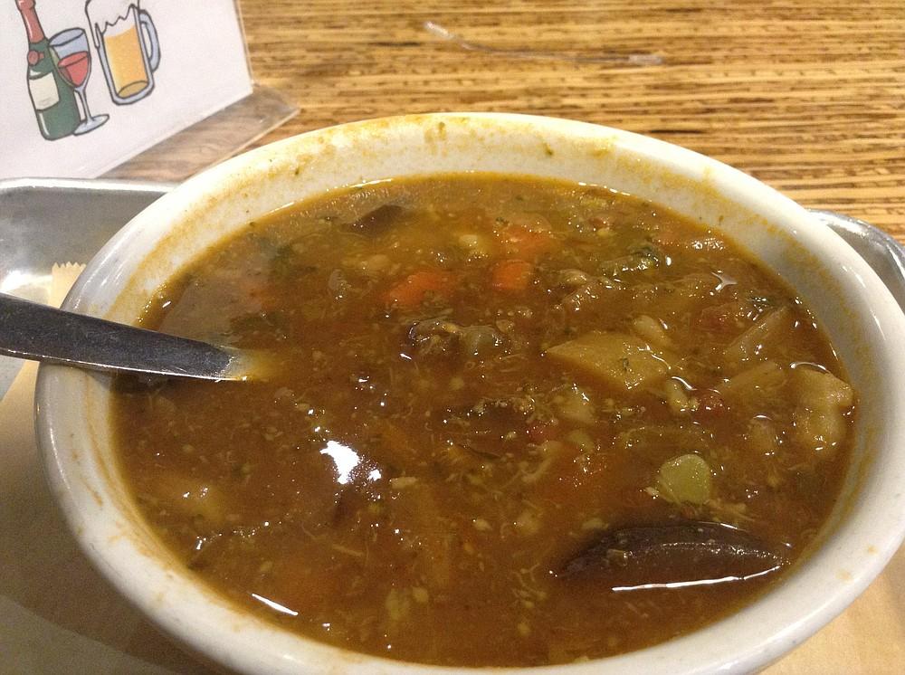 My veggie soup — surprisingly tasty