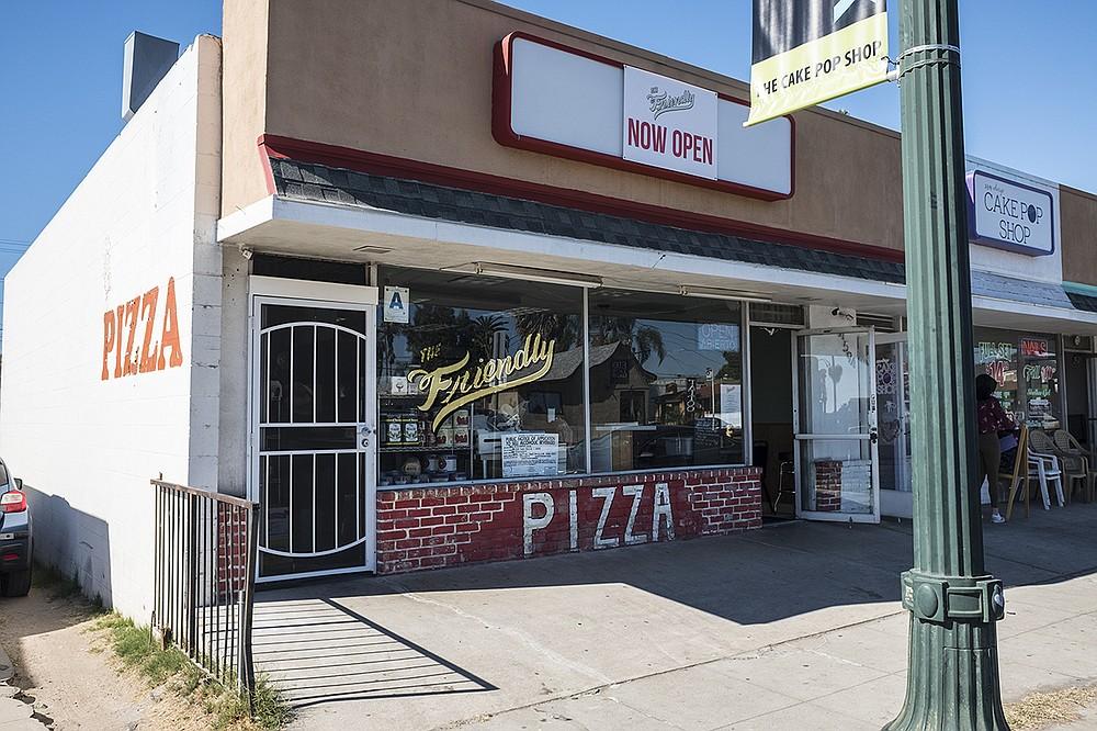Still a pizzeria. Also a little more than that.