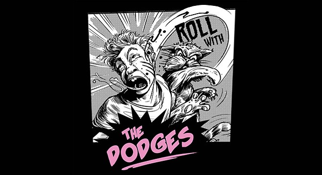 The Dodges' Roll With album art